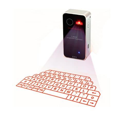 Teclado Virtual Proyección Láser Bluetooth