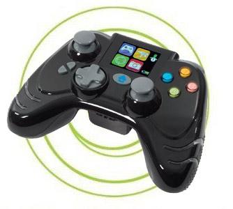Mando Xbox 360 Inalambrico WildFire Evo LCD Negro