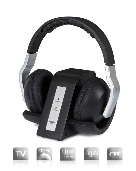 Auricular Estéreo Hi-Fi UHF FA-8075 Fonestar