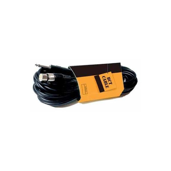 Cable Jack 6,3mm MONO – XLR Hembra Balanceado 10 metros BCT