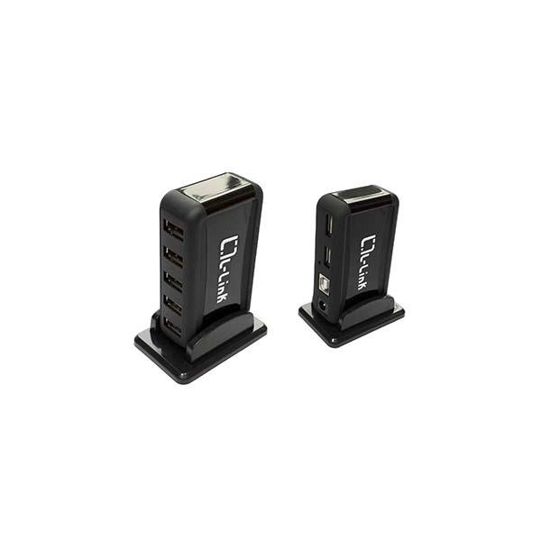 Hub 7 Puertos USB 2.0, Plug & Play+Alimentación L-LINK