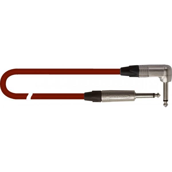 Cable Jack 6,3mm MONO 1 Jack acodado 5 metros QUICK LOCK