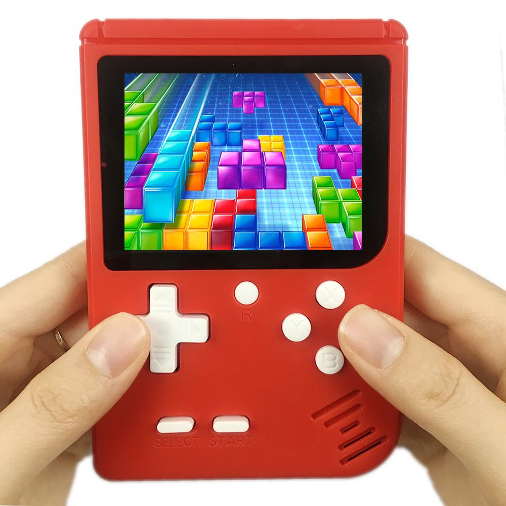 Consola Portátil Clásica con 400 Juegos Roja