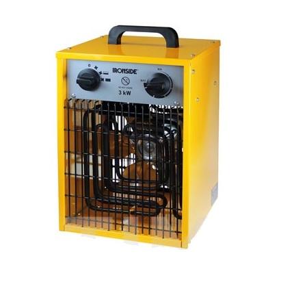Calefactor con termostato profesional 1500/3000W