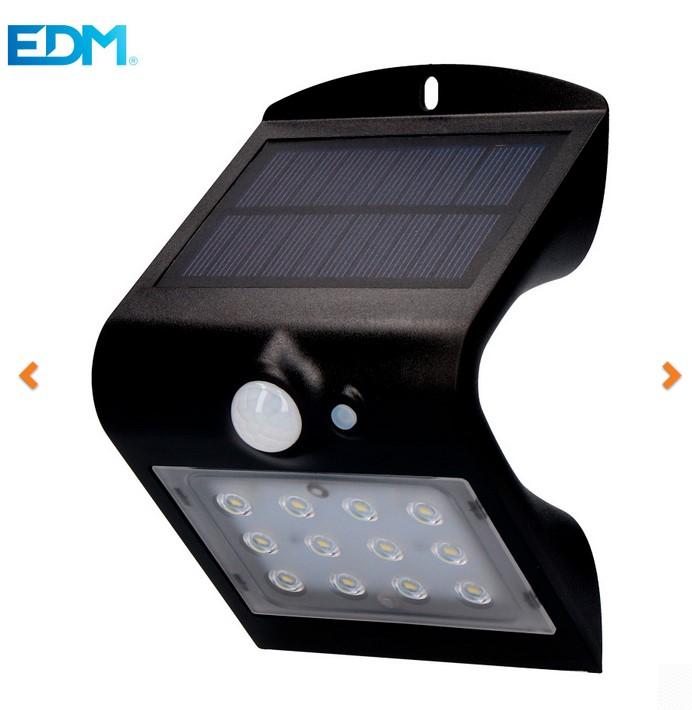 Aplique Solar con Sensor de Movimiento