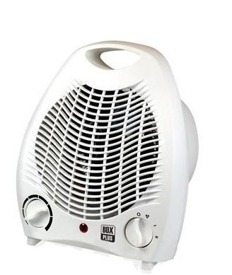 Calefactor Vertical con Asa Blanco 1000/2000 W